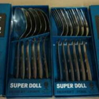 Sendok Makan Super Doll Stainless Steel Isi 6 Pcs Perdus