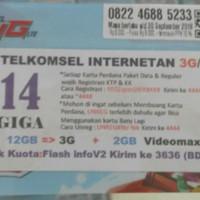 Perdana Simpati Internetan 14 GB Jaringan 3G/4G
