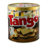 Tango Wafer kaleng rasa keju /vanilla /cokelat 350g