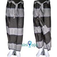 Sarung Celana Motif Samping (Songket)