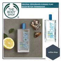 The Body Shop Body Mist -White musk sport - 100ml ORIGINAL REJECT