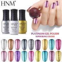 HNM 8ML Glitter UV Gel Nail Polish / Kutek Gel / Cat Kuku Gel Bling
