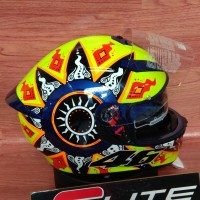 Helm AGV K3 SV Rossi 2002 include Pinlock