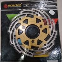Diskbrake/ Piringan Cakram Scarlet 3mm Satria FU Belakang