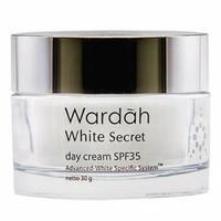 Wardah White Secret Day Cream Pelembab Wajah ( 30 Gr )