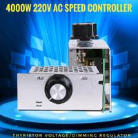 4000W 220V AC Motor Speed Controller Light Dimmer Voltage Regulator