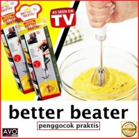 Better Beater Hand Mixer praktis otomatis Manual harga 1 set isi 2 pcs