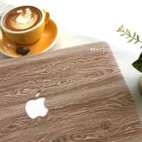 mac book macbook Pro 13 inch hard case mac cover skin wood kayu