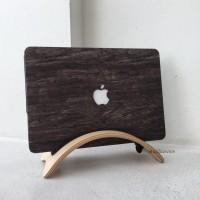 Macbook Pro 15 Inch Touchbar A1707 Skin Wood Kayu Case Cover