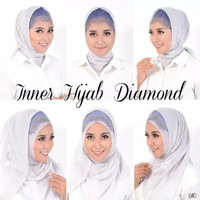 JEHFashion Aksesoris Hijab Inner Hijab Diamond Glamour
