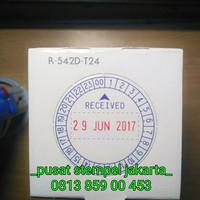 Stempel Shiny R542D T24 ( Tanggal dan Timer 24 Jam) Otomatis