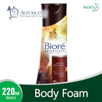 BIORE Body Foam Exotic Cinnamon Bottle 220 ml
