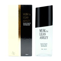 Musk By Lilian Ashley Classic Black & White Eau De Toilette 100ml