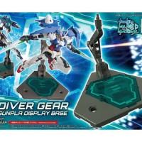 HG 1/144 HGBC HGBD Diver Gear Gunpla Gundam Display Stand Base BANDAI
