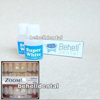 Pemutih Gigi Ampuh Super White / Obat Penghilang Karang Gigi