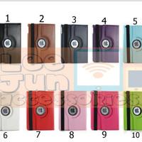 iPad Air 1 Rotary Smart Flip Cover / Case (Hard)