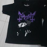 "Kaos Band Metal Merchandise Anak Laki Perempuan MAYHEM - Leipzig"""