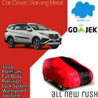 body cover / sarung mobil all new rush / terios 2018