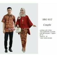 Kebaya Modern Batik Sarimbit Keluarga Baju Jumbo Kekinian Marimar Lowo