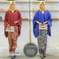 Kebaya Modern Batik Keluarga Sarimbit Lowo Marimar Baju Jumbo
