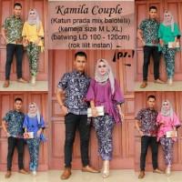 Kebaya Modern Batik Keluarga Sarimbit Baju Murah Tanah Abnag Seragam