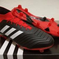 TERMURAH Sepatu Bola Soccer Adidas Predator 18 1 Black Red FG BEST