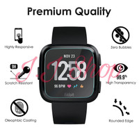 Tempered Glass Anti Gores Kaca Smartwatch Fitbit Versa