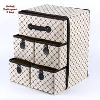 Kotak Serbaguna 5 Laci Kotak-Kotak (Kotak Utk Tempat Pakaian Dalam)