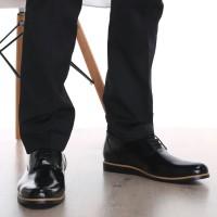 Sepatu Flat kulit Pullup kualitas Premium ( Boston - Swansea *New )