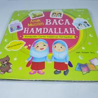 Buku Qibla Anak Muslim baca Hamdallah Kumpulan cerita indahnya bersyuk