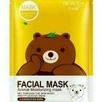 Bioaqua facial mask karakter