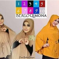 hijab instan khimar bergo jilbab syari kimono qimona hijab syar'i