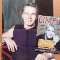 Majalah LIME Oct, 1999 (Bonus Giant Poster Shane Westlife) -- Langka