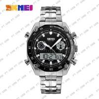 MCM10 Jam Tangan Pria Digital Analog SKMEI 1204 Black Water Resistant