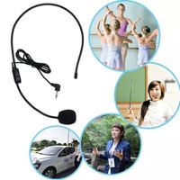 Mic headset 3.5 mm mic mengajar mic wireless microphone headset