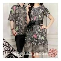 Kemeja Pria Dan Dress Couple Batik