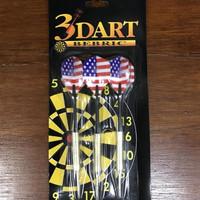 Jarum Dart / Anak Panah Dart Bahan Besi panjang 16cm Isi 3