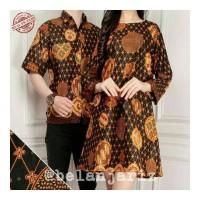 Kemeja Pria Dan Tunik Couple Batik