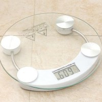 Timbangan Badan Digital Kaca Personal Body Weight Scale 180 kg 26 cm