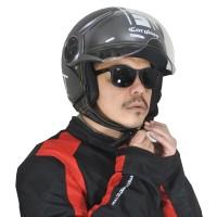 Cargloss YR HC Protect Helm Half Face - Gun Metal SG