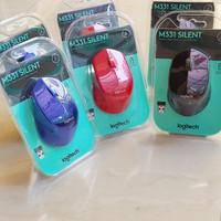 Mouse Wireless Logitech M331 Silent Plus - Asli Original Garansi Resmi