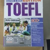 BUKU ULTIMATE EDITION TOEFL 600+ FOKUS PENDALAMAN MATERI & SOAL ORI in