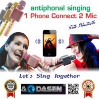Aodasen JY-53 Wireless 2 in 1 Bluetooth Karaoke Speaker-PINK