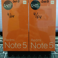 New Xiaomi Redmi Note 5 Pro Ram 4/64GB - Garansi resmi TAM - Gold