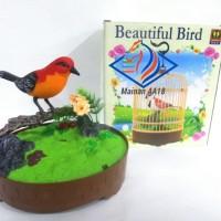 Mainan Anak Burung Sangkar Beautiful Bird Ukuran Besar