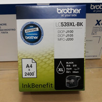 Tinta Brother LC539XL Black