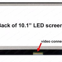 LED 10.1 SLIM 40 PIN KUPING SAMPING (ADA DOT 1)