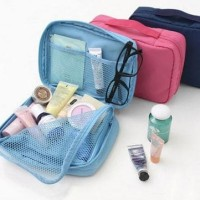 210 Monopoly Cosmetic Pouch Tas Kosmetik Travel Organizer Make Up Bag