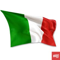 Bendera Negara Italia - 130cm x 90cm