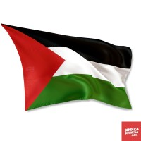 Bendera Negara Palestina - 130cm x 90cm